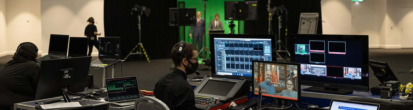 New broadcast quality virtual studio now available at Melbourne Showgrounds